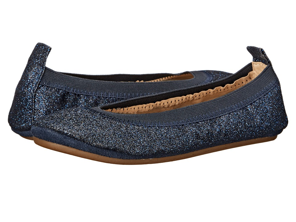 Yosi Samra Kids Sammie All Over Glitter Toddler/Little Kid/Big Kid Sapphire Glitter Girls Shoes