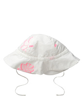 Chloe Kids - White Hat with Pink Flowers (Infant/Toddler)