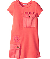 Little Marc Jacobs - Milano Dress with Cabochons (Toddler/Little Kids)