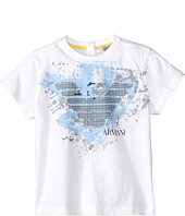 Armani Junior - Graphic Tee w/ Paint Splatter Logo (Infant)