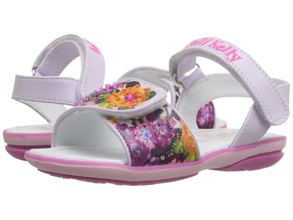 Lelli Kelly Kids Bella Sandal Toddler/Little Kid Lilac Fantasy Girls Shoes