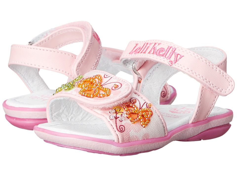 Lelli Kelly Kids Giardino Sandal Toddler/Little Kid Pink Fantasy Girls Shoes