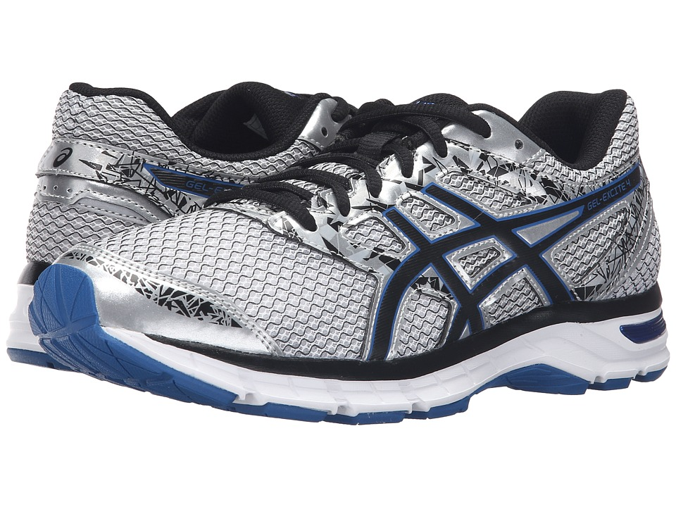 ASICS Gel-Excite 4 (Silver/Black/Imperial) Men