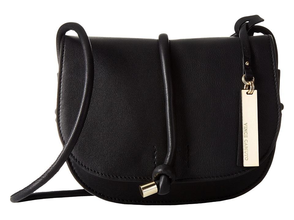 Vince Camuto Sonia Crossbody Black Cross Body Handbags