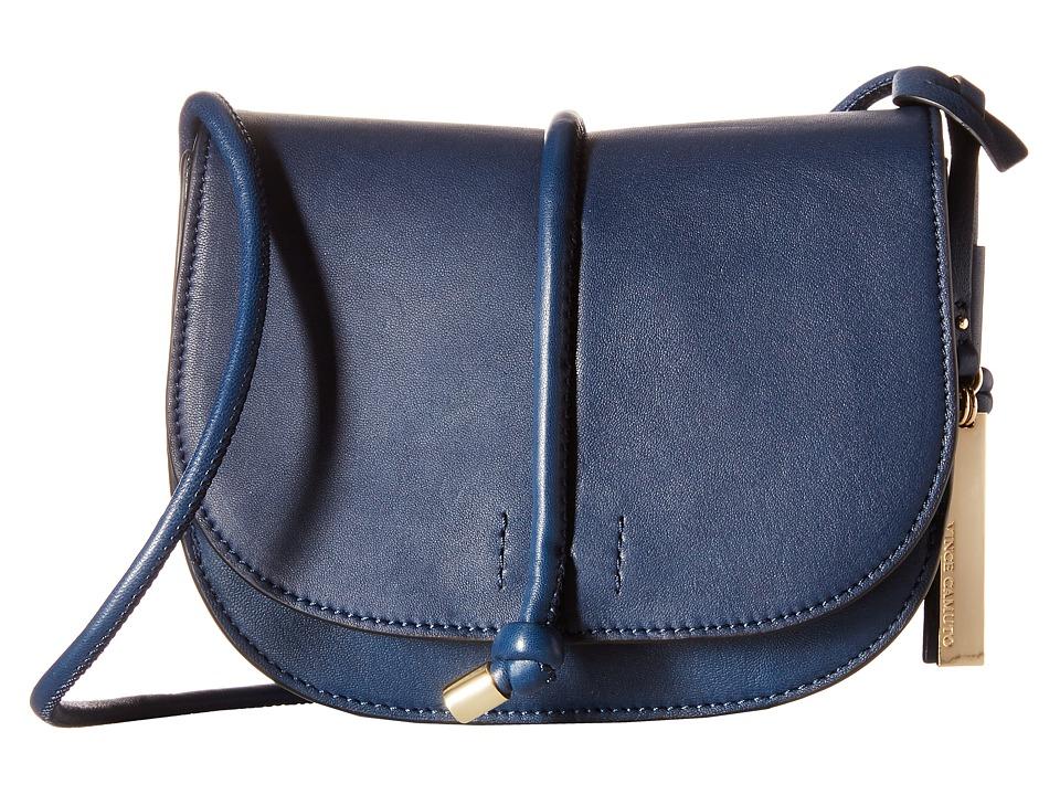 Vince Camuto Sonia Crossbody Navy Cross Body Handbags
