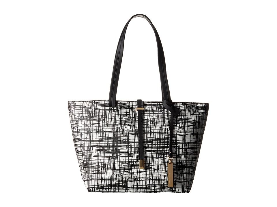 Vince Camuto - Leila Small Tote (Ivory Scribble) Tote Handbags