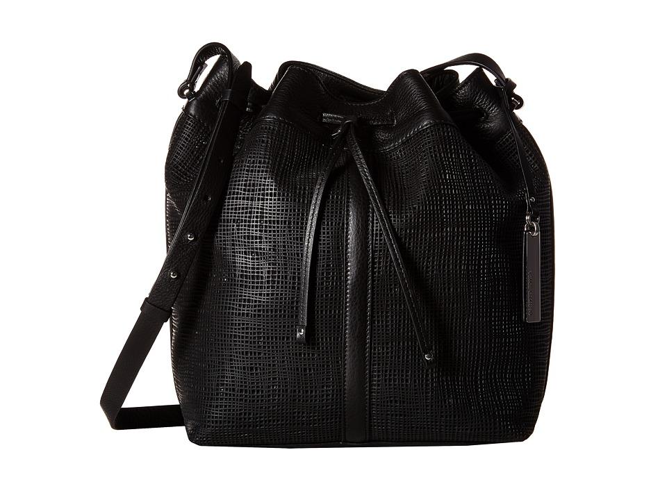 Vince Camuto - Jaxen Drawstring (Black) Drawstring Handbags