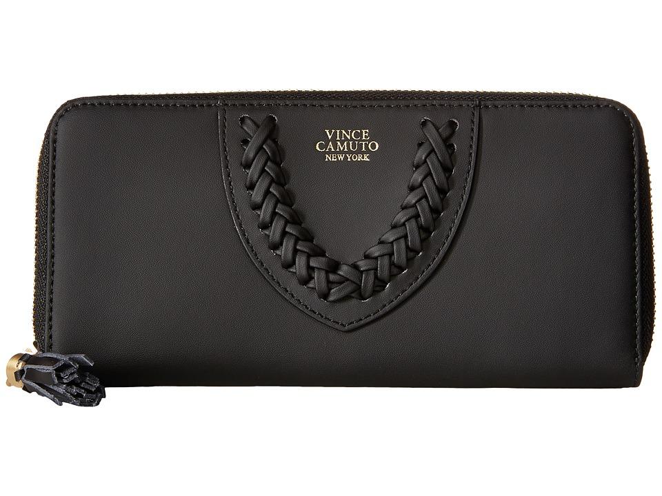 Vince Camuto Amala Wallet Black Wallet Handbags