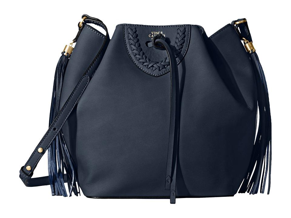 Vince Camuto Amala Crossbody Navy Cross Body Handbags