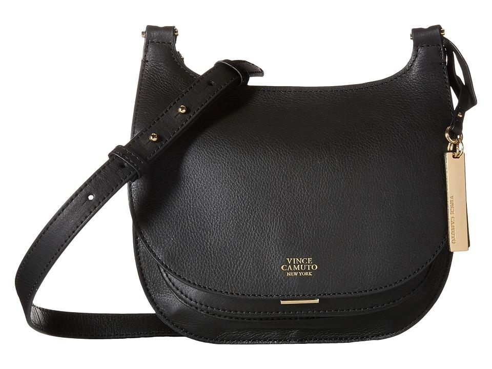 Vince Camuto Elyza Small Crossbody Black Cross Body Handbags