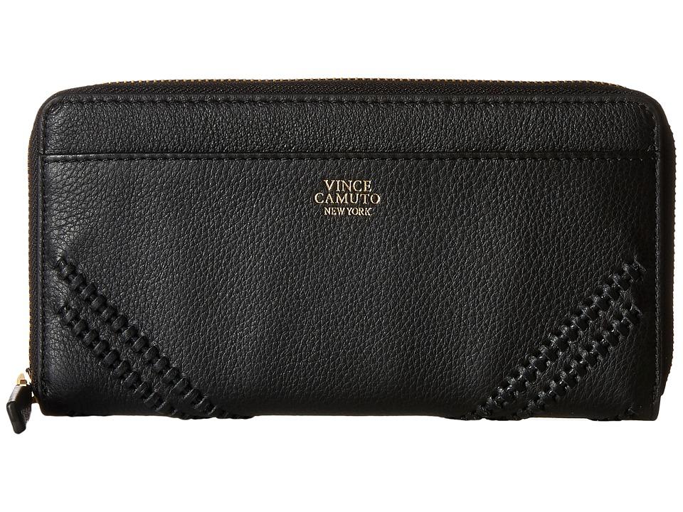Vince Camuto Nella Wallet Black Wallet Handbags