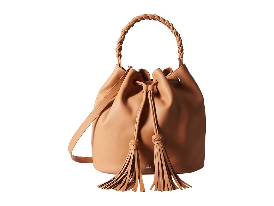 Vince Camuto - Zinya Drawstring (Chestnut Brown) Drawstring Handbags