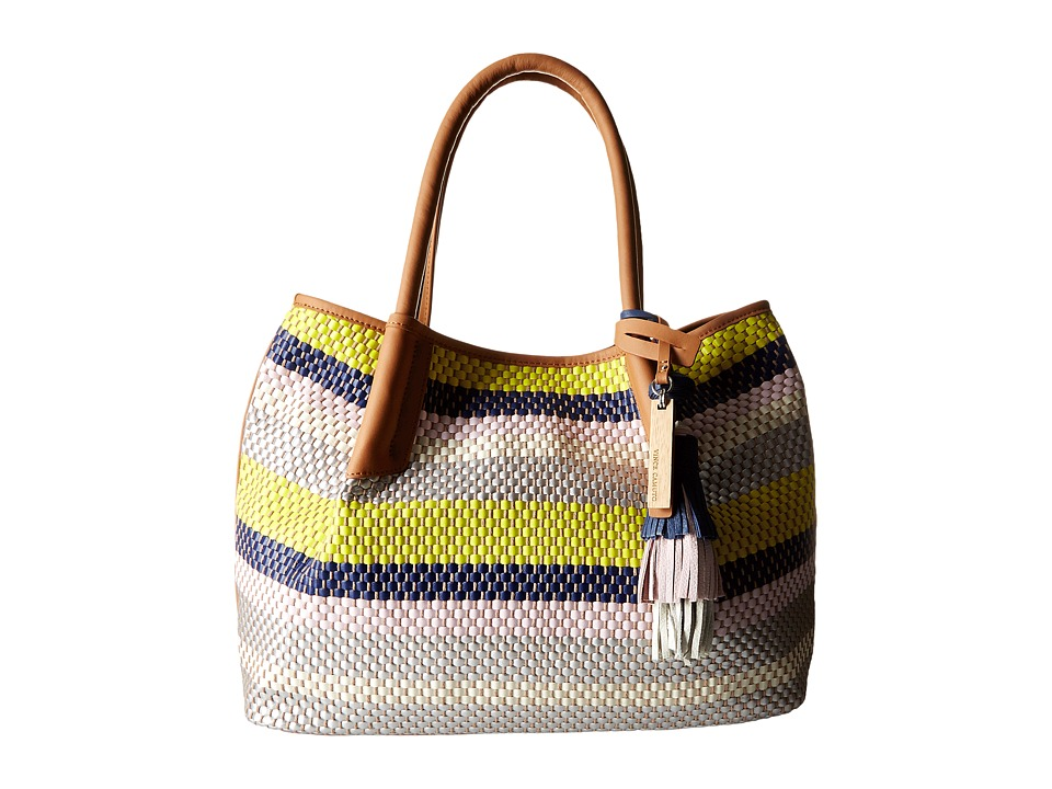 Vince Camuto - Harlo Tote (Pink Bliss/Chestnut Brown) Tote Handbags