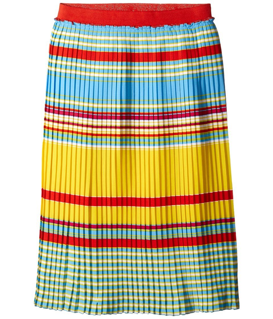 Little Marc Jacobs Crepe Skirt Stripes Print Little Kids/Big Kids Multicolor Girls Skirt