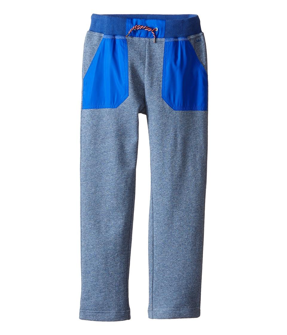 Little Marc Jacobs Trousers Satin Patches Little Kids/Big Kids Medium Blue Boys Casual Pants
