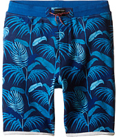Little Marc Jacobs - Fleece Shorts Jungle Print (Big Kids)