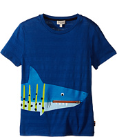 Paul Smith Junior - Shark with Tongue/Pocket Tee Shirt (Toddler/Little Kids)