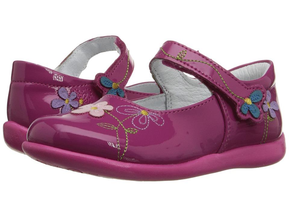 Kid Express Primrose Toddler/Little Kid Fuchsia Patent Girls Shoes