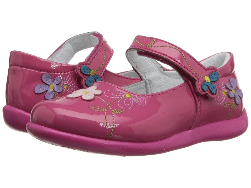 Kid Express Primrose Toddler/Little Kid Pink Patent Girls Shoes