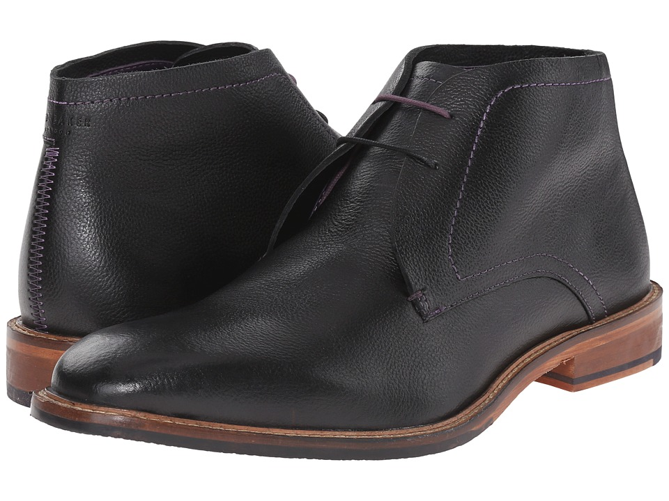 Ted Baker - Torsdi 4 (Black Leather) Mens Lace-up Boots