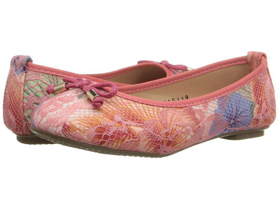 Kid Express Arlene Toddler/Little Kid/Big Kid Pink Combo Girls Shoes