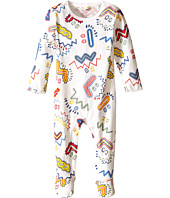 Stella McCartney Kids - Twiddle Zigzag Print Footie (Infant)