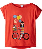 Little Marc Jacobs - Ms Marc Graphic Tee (Big Kids)