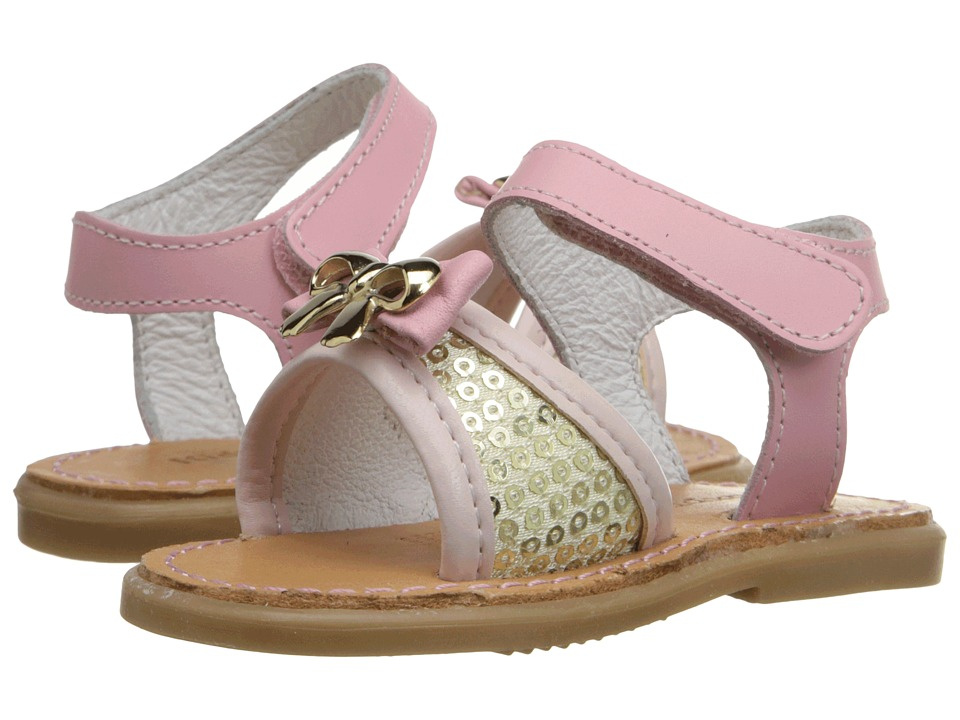 Kid Express Ivette Infant/Toddler Pink Combo Girls Shoes