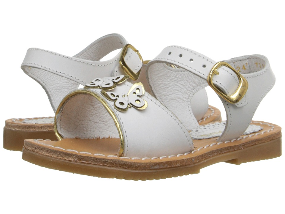 Kid Express Ophelia Toddler/Little Kid/Big Kid White Leather Girls Shoes