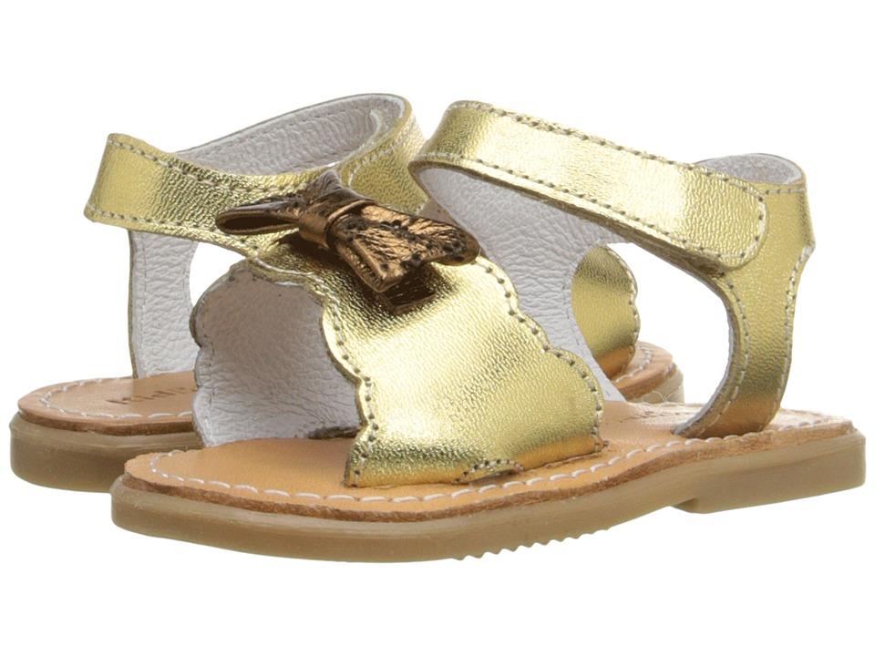 Kid Express Hadley Infant/Toddler Gold Metallic Girls Shoes