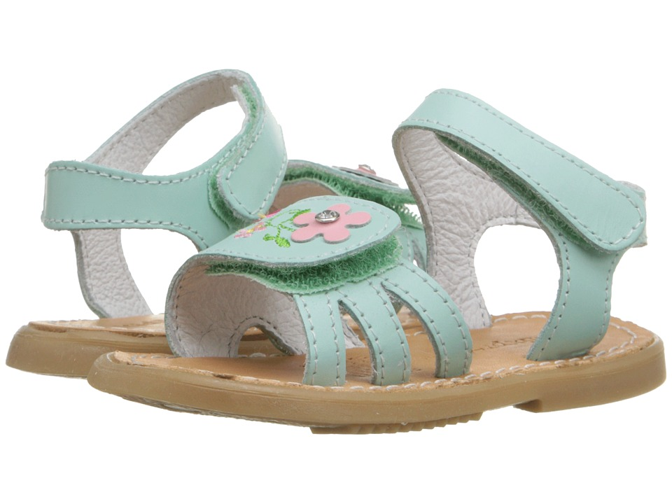 Kid Express Bernardine Infant/Toddler Mint Leather Girls Shoes