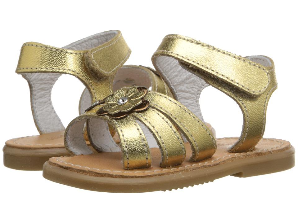 Kid Express Alina Infant/Toddler Gold Metallic Girls Shoes