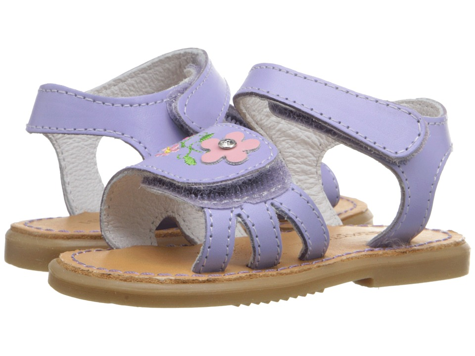 Kid Express Bernardine Infant/Toddler Lilac Leather Girls Shoes
