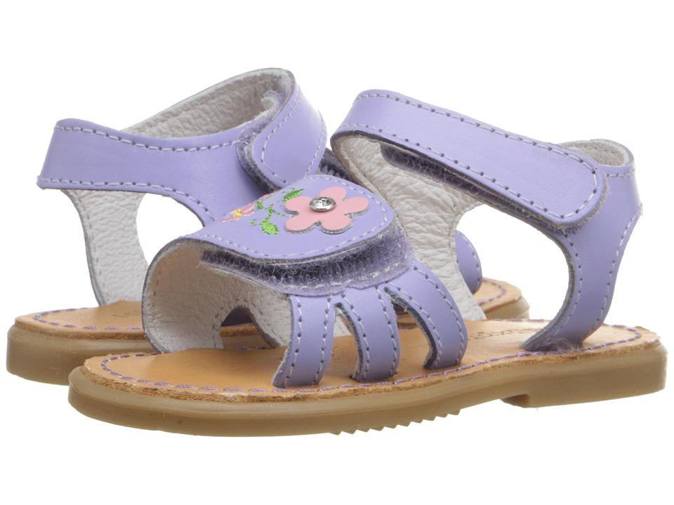 Kid Express Bernardine Infant/Toddler Lilac Leather Girls Shoes