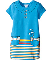 Little Marc Jacobs - Short Sleeve Dress with Fancy Illustration (Toddler/Little Kids)