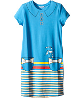 Little Marc Jacobs - Short Sleeve Dress with Fancy Illustration (Little Kids/Big Kids)