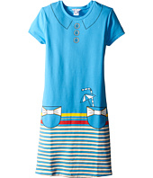 Little Marc Jacobs - Short Sleeve Dress with Fancy Illustration (Big Kids)