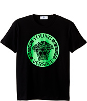 Versace Kids - T-Shirt with Medusa Logo on Front (Big Kids)