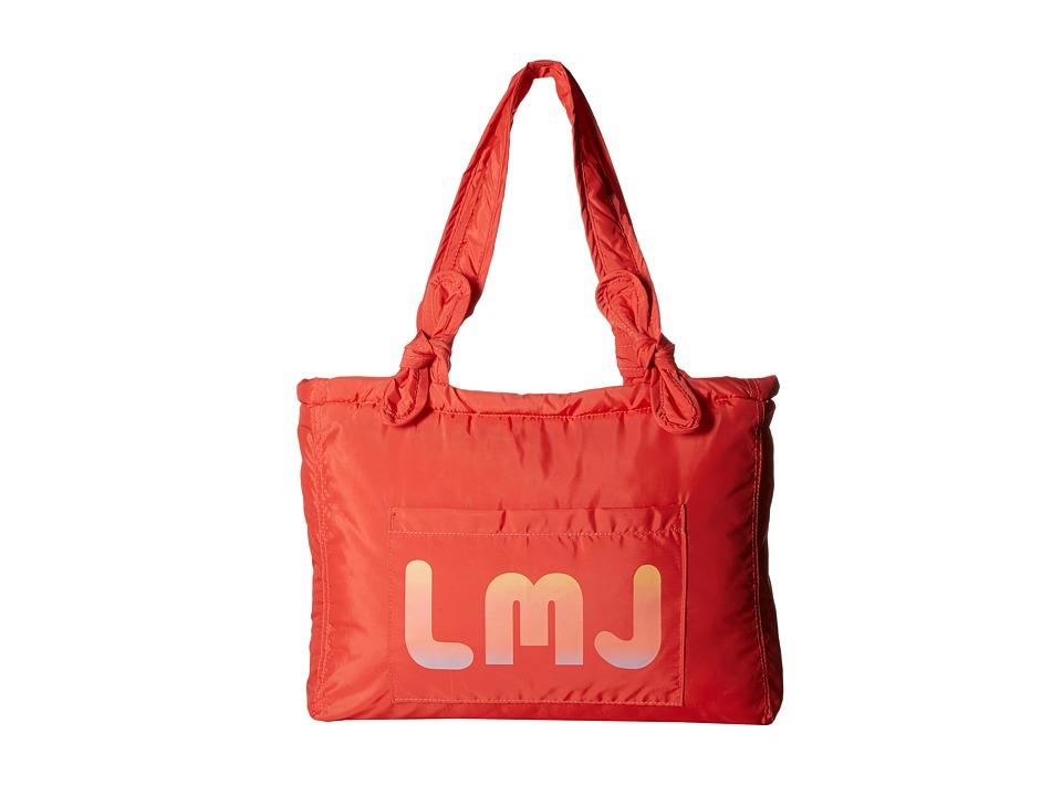 Little Marc Jacobs Bag Nylon LMJ Red Tote Handbags