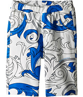 Versace Kids - Shorts with All Over Macrobarocco Print (Toddler/Little Kids)