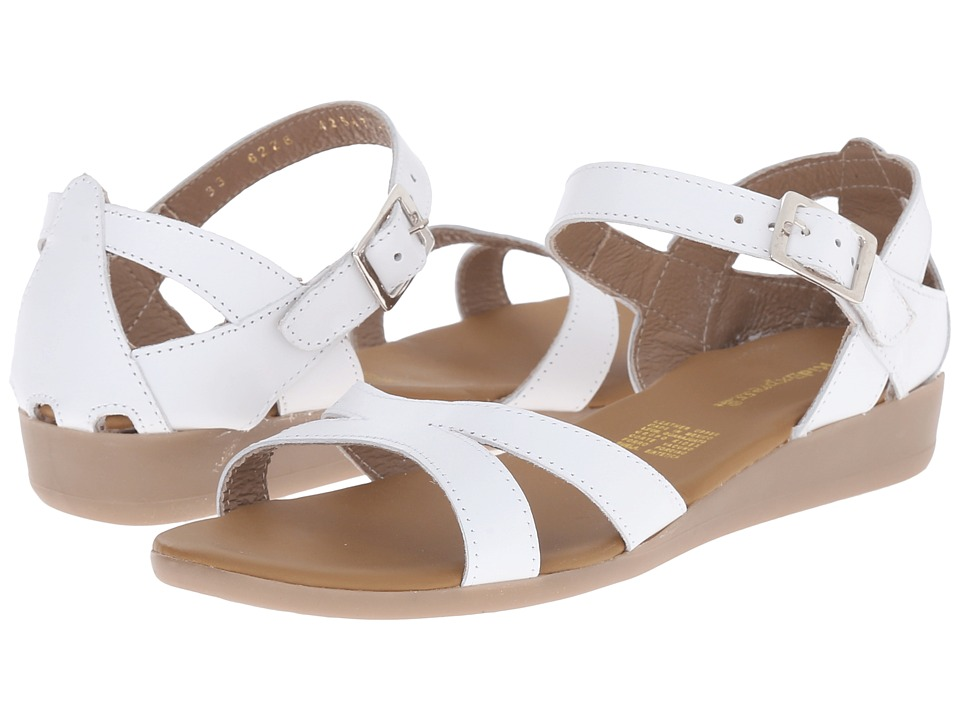 Kid Express Channing Little Kid/Big Kid White Leather Girls Shoes