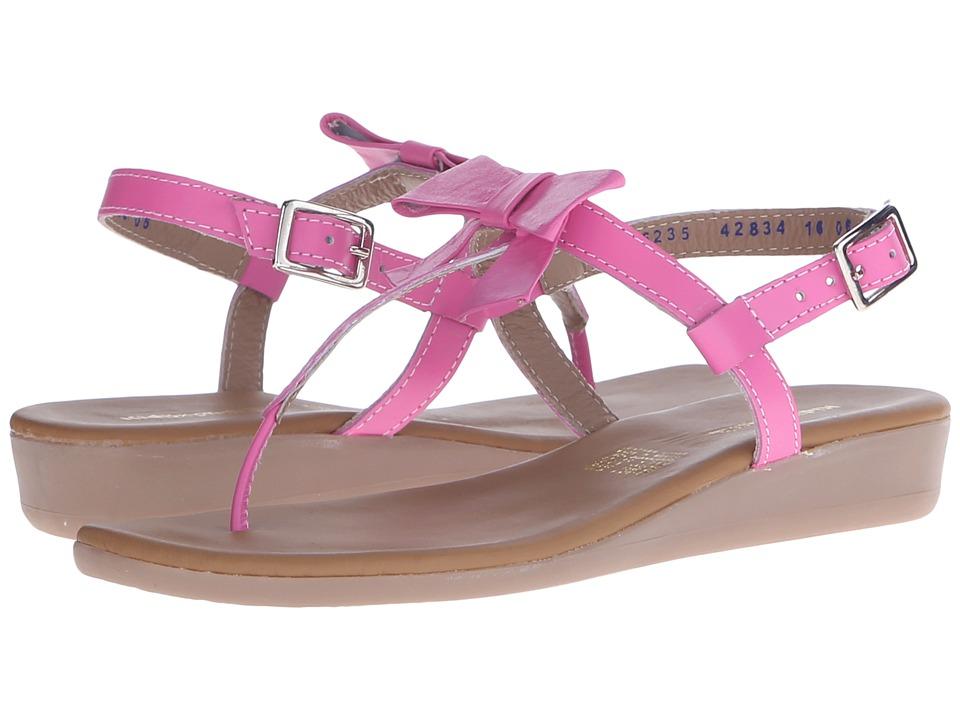 Kid Express Paulina Little Kid/Big Kid Fuchsia Leather Girls Shoes