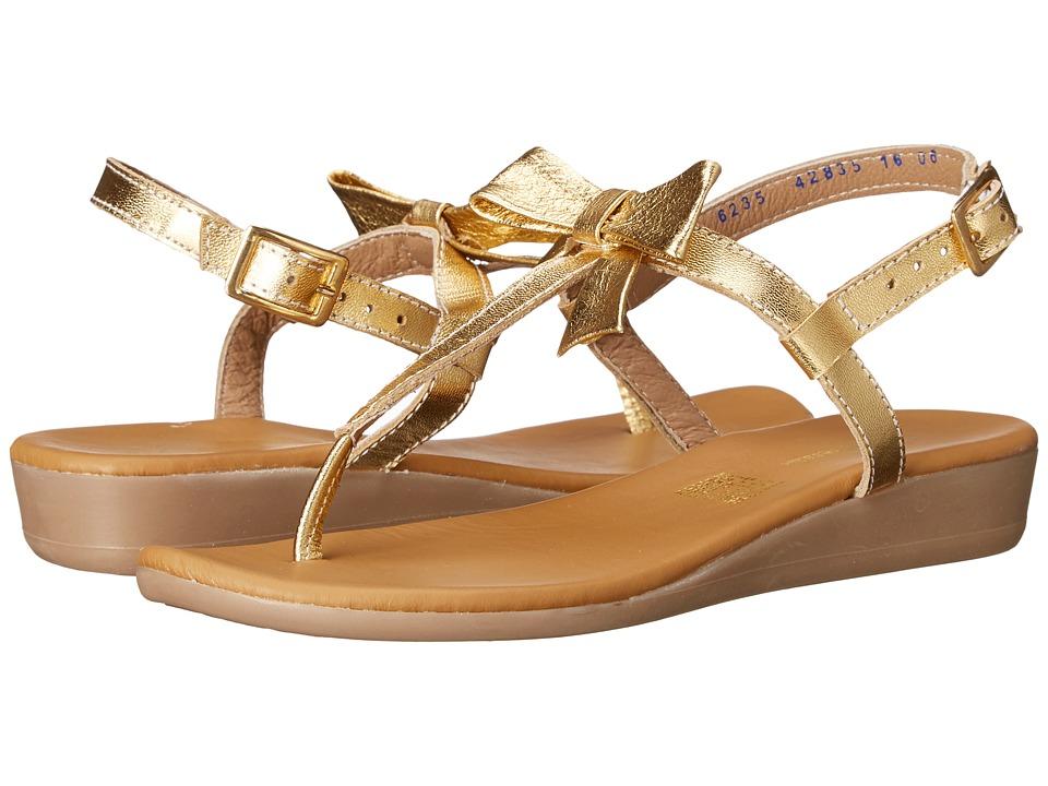 Kid Express Paulina Little Kid/Big Kid Gold Metallic Girls Shoes