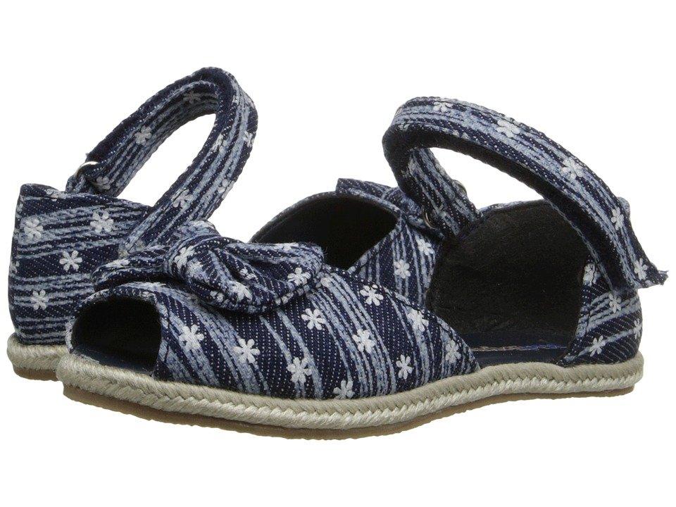 Kid Express Jezebel Toddler/Little Kid Navy Combo Girls Shoes
