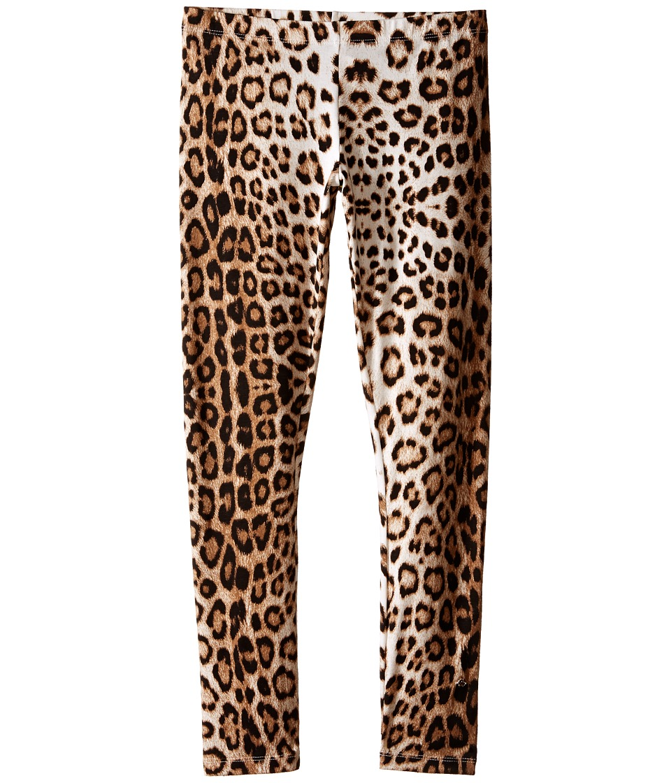 Roberto Cavalli Kids Leopard Leggings Big Kids Leopard Girls Casual Pants