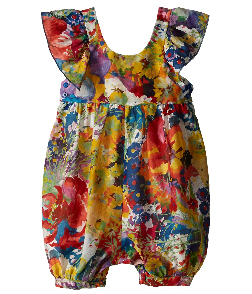 Stella McCartney Kids Cordelia Floral Romper Infant Multi Girls Jumpsuit Rompers One Piece