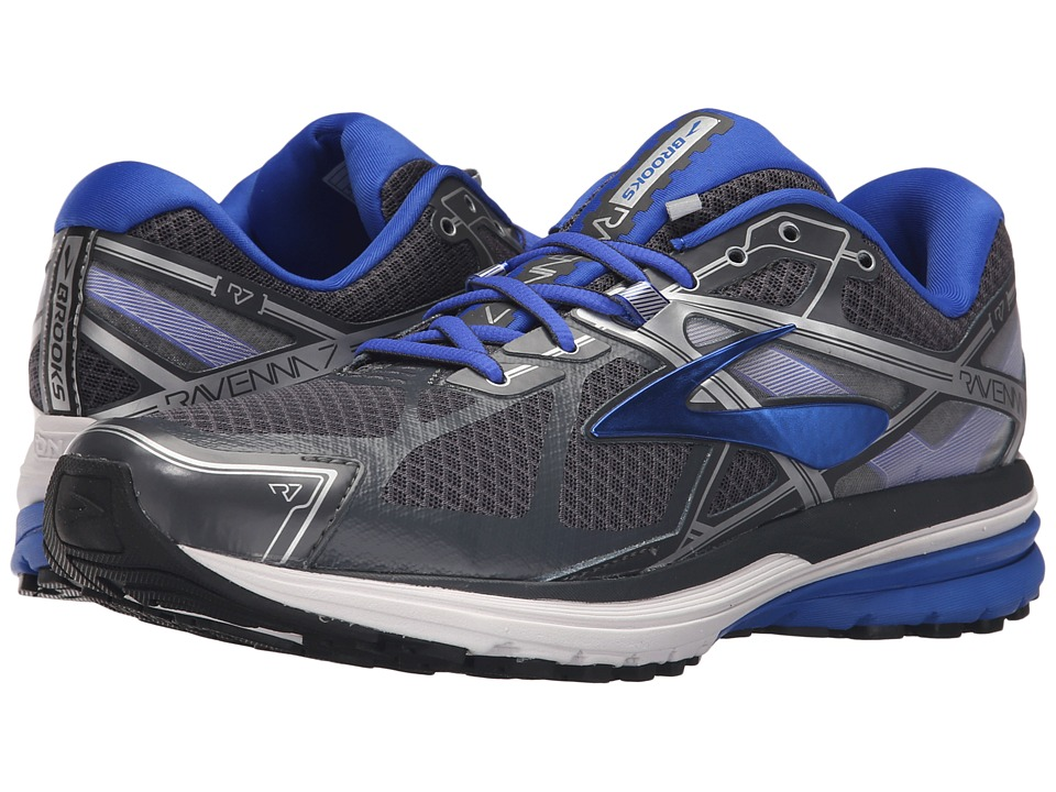 Brooks Ravenna 7 (Anthracite/Electric Brooks Blue/Silver) Men