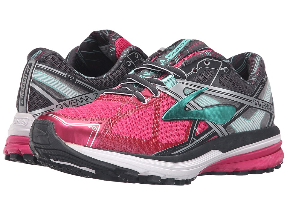 Brooks Ravenna 7 (Fuchsia Purple/Anthracite/Cockatoo) Women