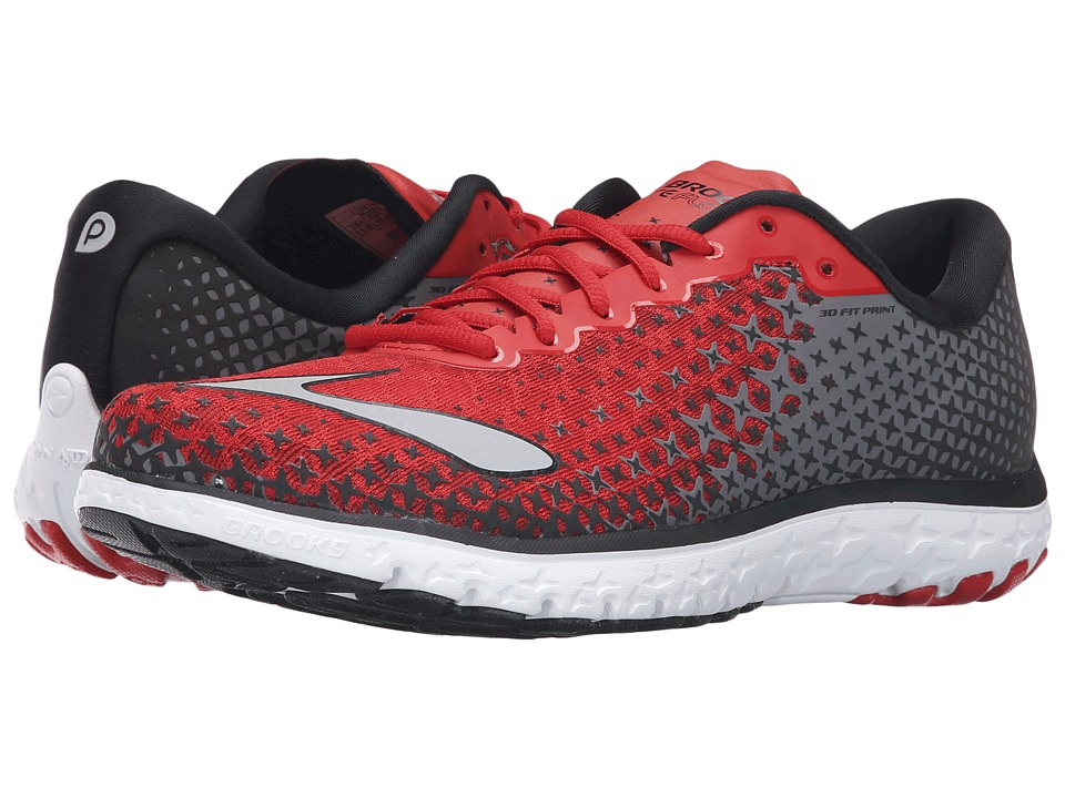 Brooks PureFlow 5 (High Risk Red/Black/Silver) Men