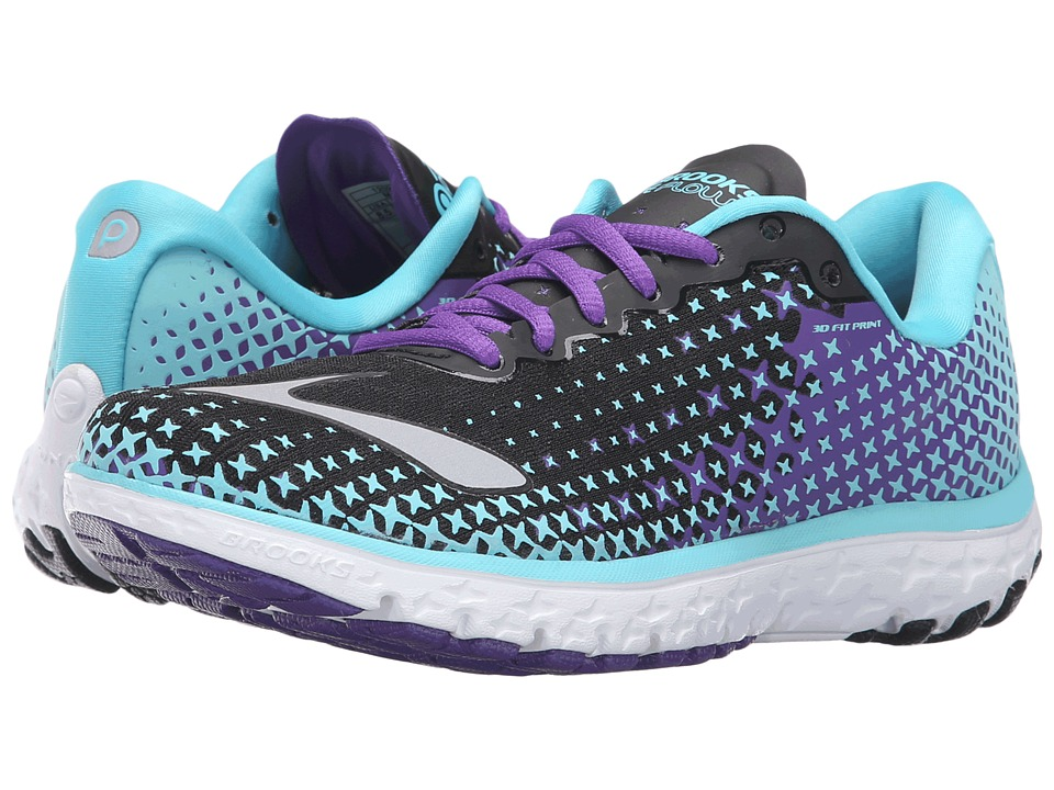 Brooks PureFlow 5 (Bluefish/Black/Electric Purple) Women